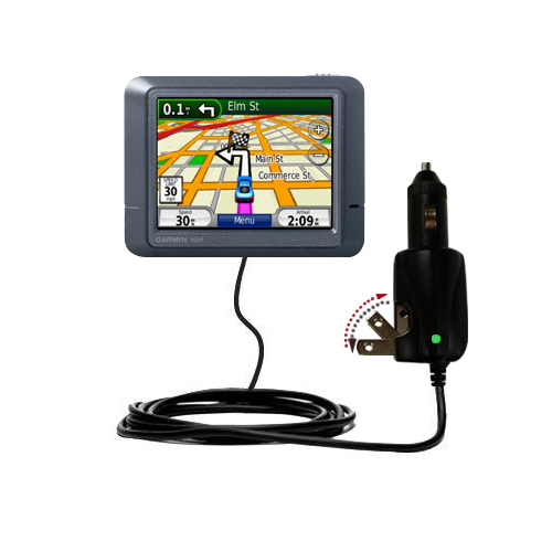Car & Home 2 in 1 Charger compatible with the Garmin Nuvi 265T