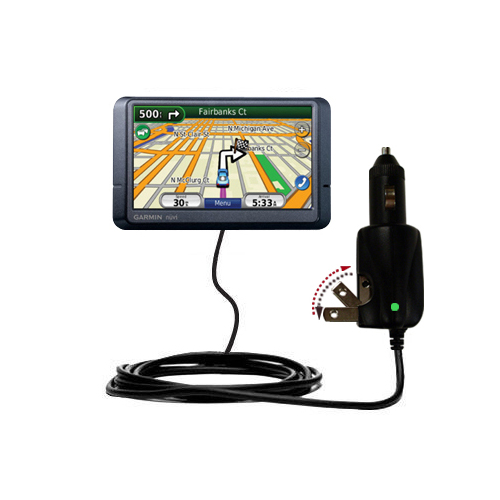 Car & Home 2 in 1 Charger compatible with the Garmin Nuvi 265WT 265T