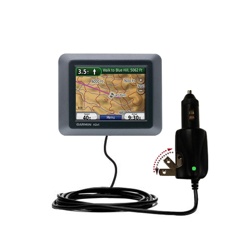 Car & Home 2 in 1 Charger compatible with the Garmin Nuvi 500