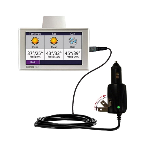 Car & Home 2 in 1 Charger compatible with the Garmin Nuvi 680