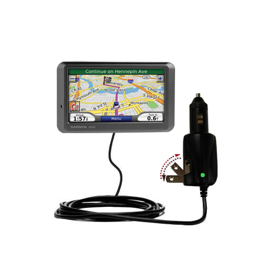 Car & Home 2 in 1 Charger compatible with the Garmin Nuvi 770