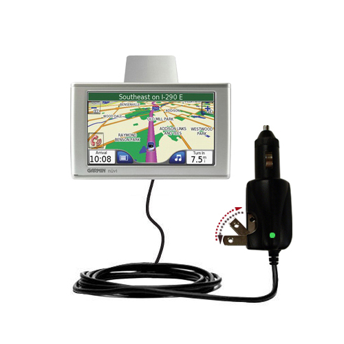 Car & Home 2 in 1 Charger compatible with the Garmin Nuvi 780