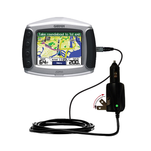 Car & Home 2 in 1 Charger compatible with the Garmin Zumo 400