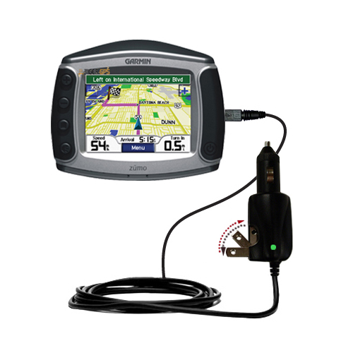 Car & Home 2 in 1 Charger compatible with the Garmin Zumo 550