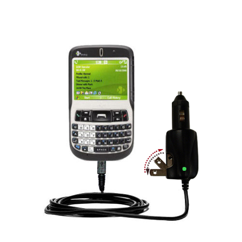 Car & Home 2 in 1 Charger compatible with the HTC Dash