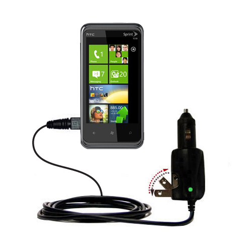 Car & Home 2 in 1 Charger compatible with the HTC Eternity