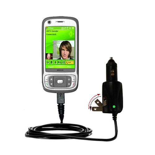 Car & Home 2 in 1 Charger compatible with the HTC Kaiser