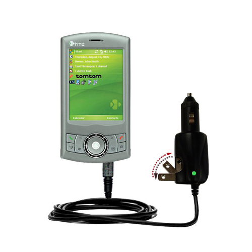 Car & Home 2 in 1 Charger compatible with the HTC P3300