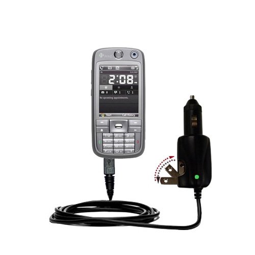 Car & Home 2 in 1 Charger compatible with the HTC S730