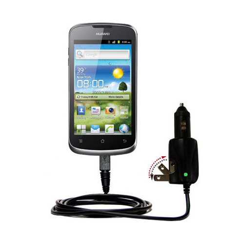 Car & Home 2 in 1 Charger compatible with the Huawei U8815