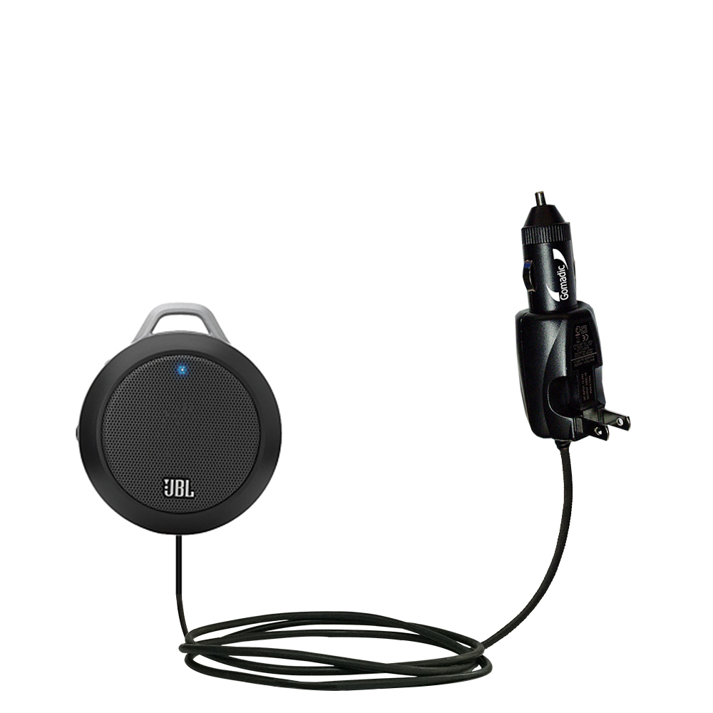 Car & Home 2 in 1 Charger compatible with the JBL Micro II