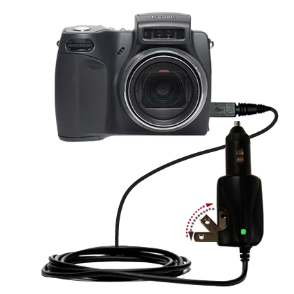 Car & Home 2 in 1 Charger compatible with the Kodak DX6490