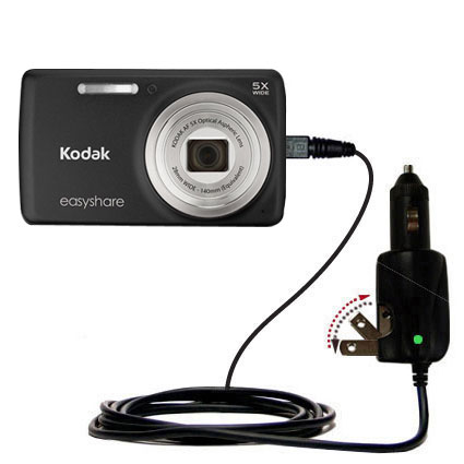 Car & Home 2 in 1 Charger compatible with the Kodak EasyShare M552