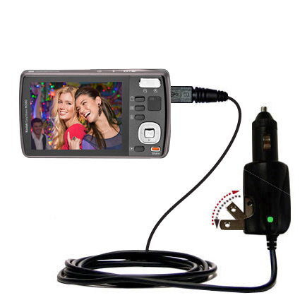 Car & Home 2 in 1 Charger compatible with the Kodak EasyShare M575