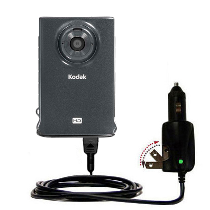Car & Home 2 in 1 Charger compatible with the Kodak Zm2 Mini Video Camera