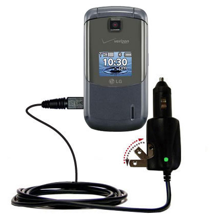 Car & Home 2 in 1 Charger compatible with the LG Accolade