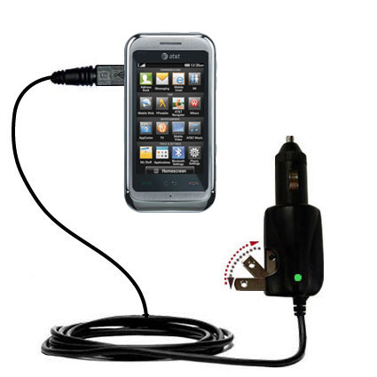 Car & Home 2 in 1 Charger compatible with the LG Arena