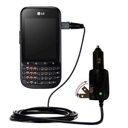Car & Home 2 in 1 Charger compatible with the LG C660