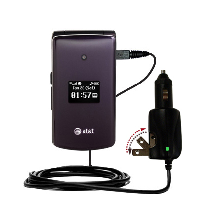 Car & Home 2 in 1 Charger compatible with the LG CU515