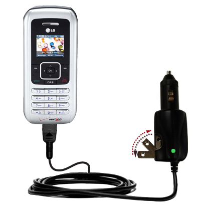 Car & Home 2 in 1 Charger compatible with the LG EnV
