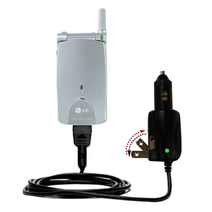 Car & Home 2 in 1 Charger compatible with the LG G4010
