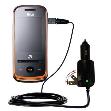 Car & Home 2 in 1 Charger compatible with the LG GM310
