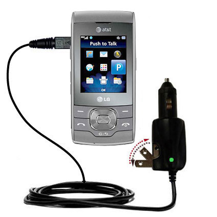Car & Home 2 in 1 Charger compatible with the LG GU292