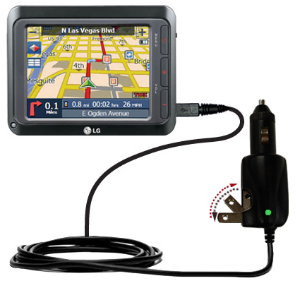 Car & Home 2 in 1 Charger compatible with the LG LN740
