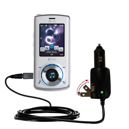 Car & Home 2 in 1 Charger compatible with the LG Rhythm