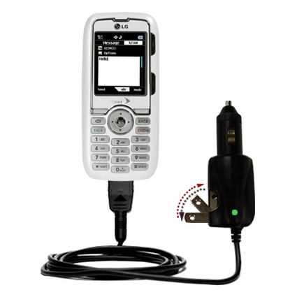 Car & Home 2 in 1 Charger compatible with the LG Rumor