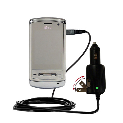 Car & Home 2 in 1 Charger compatible with the LG Shine