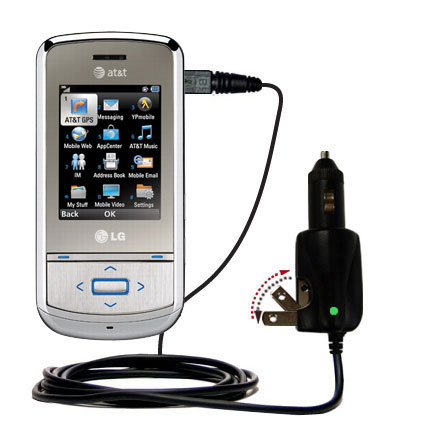 Car & Home 2 in 1 Charger compatible with the LG Shine II GD710