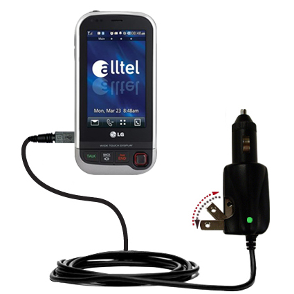 Car & Home 2 in 1 Charger compatible with the LG Tritan