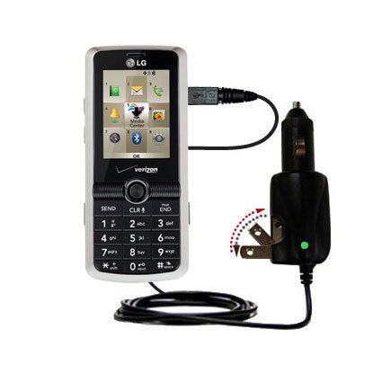 Car & Home 2 in 1 Charger compatible with the LG VX7100