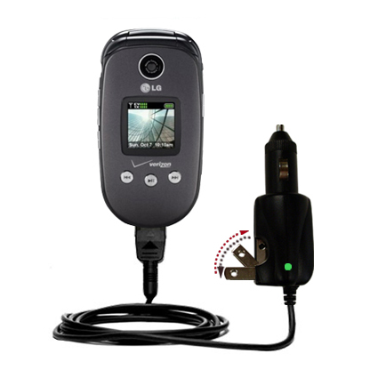 Car & Home 2 in 1 Charger compatible with the LG VX8350
