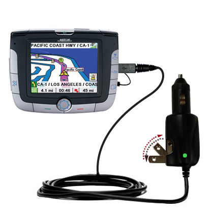 Car & Home 2 in 1 Charger compatible with the Magellan Roadmate 3000T