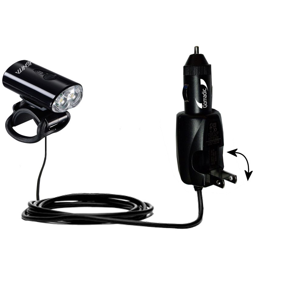 Car & Home 2 in 1 Charger compatible with the MetroFlash IGNITA - MF-i650