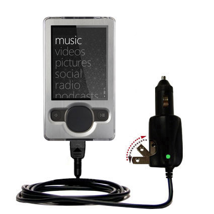 Car & Home 2 in 1 Charger compatible with the Microsoft Zune (2nd and Latest Generation)