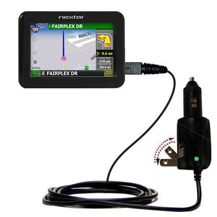 Car & Home 2 in 1 Charger compatible with the Nextar K4