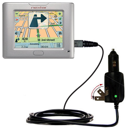 Car & Home 2 in 1 Charger compatible with the Nextar S3