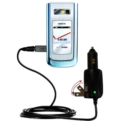 Car & Home 2 in 1 Charger compatible with the Nokia 6205