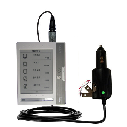 Car & Home 2 in 1 Charger compatible with the NUUTbook NUUT2