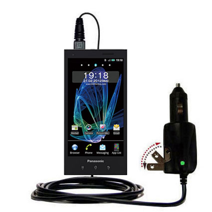 Car & Home 2 in 1 Charger compatible with the Panasonic Eluga / dL1