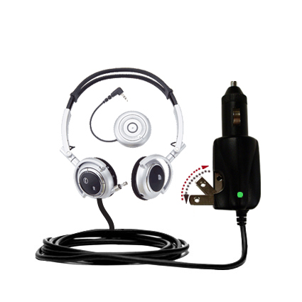 Car & Home 2 in 1 Charger compatible with the Plantronics Pulsar 590E