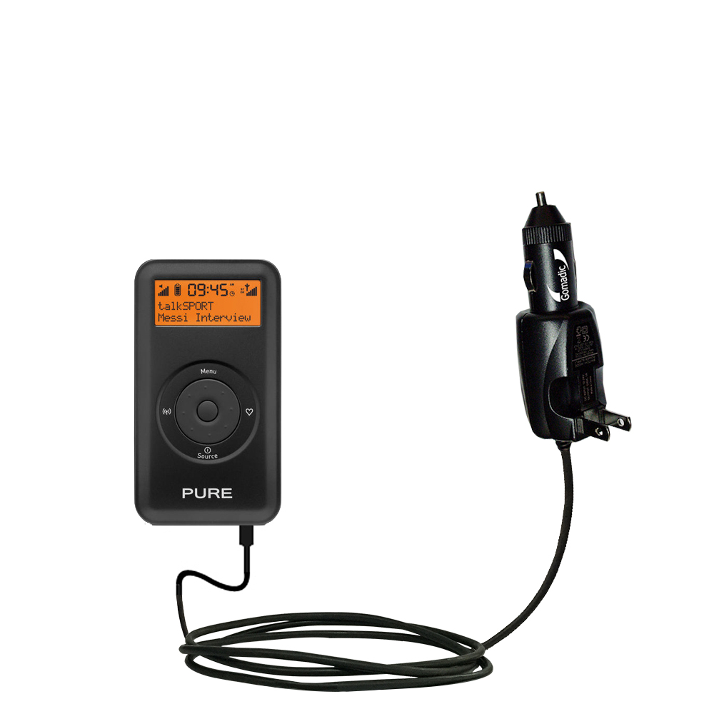 Car & Home 2 in 1 Charger compatible with the PURE Move 2500