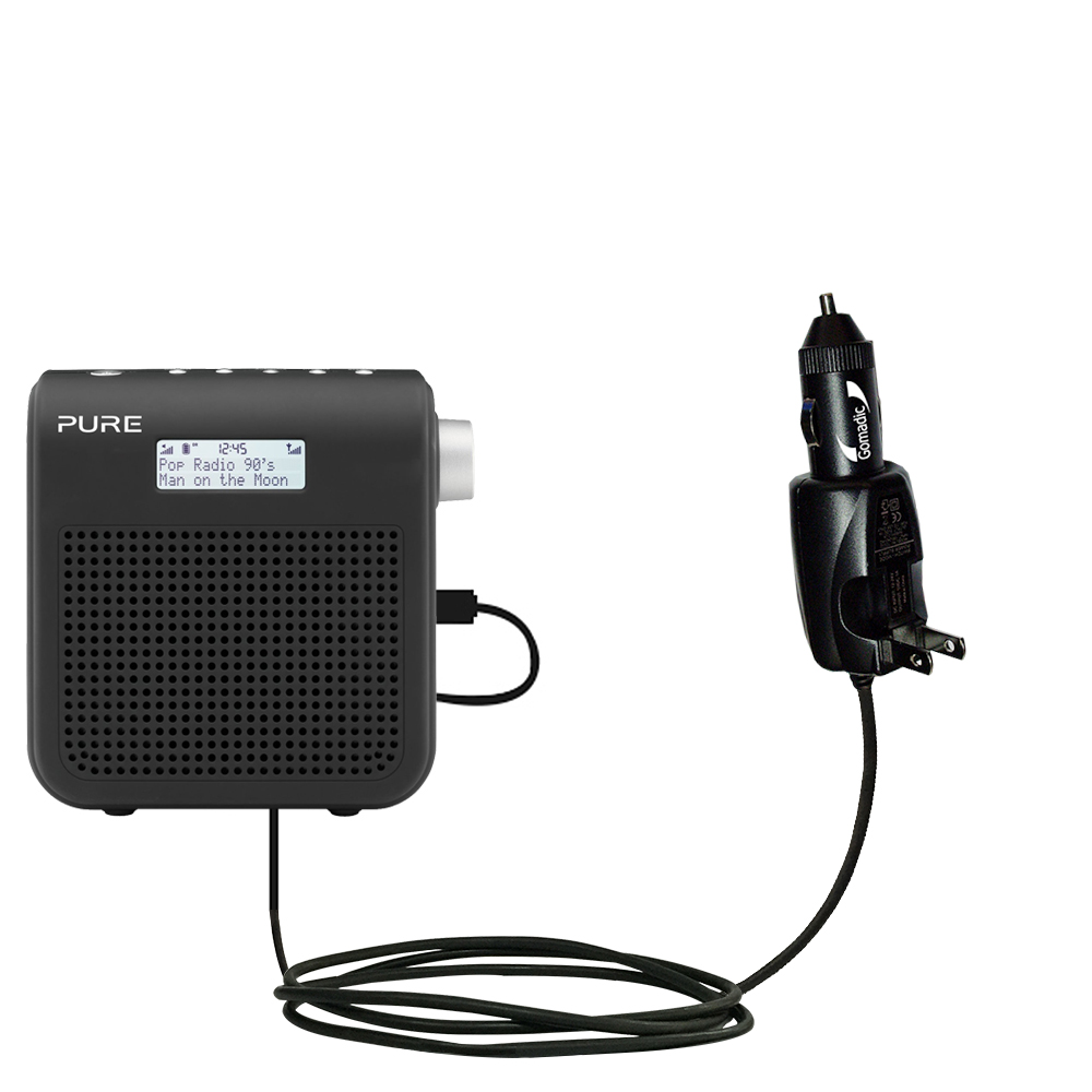 Car & Home 2 in 1 Charger compatible with the PURE One Mini Series 2