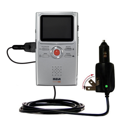 Car & Home 2 in 1 Charger compatible with the RCA EZ409HD Small Wonder Digital Camcorders