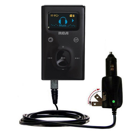 Car & Home 2 in 1 Charger compatible with the RCA M2104 M2204 Lyra