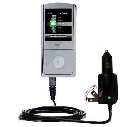 Car & Home 2 in 1 Charger compatible with the RCA M4304 Opal Digital Media Player