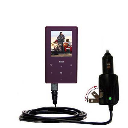 Car & Home 2 in 1 Charger compatible with the RCA M6308